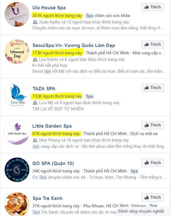 Phân tích đối thủ bằng phần mềm simple facebook