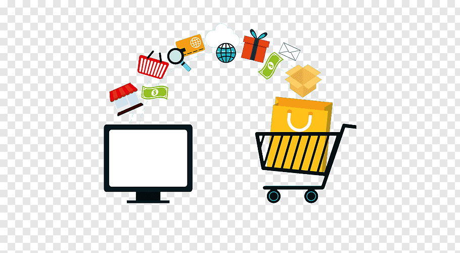 online shopping e commerce retail sales business png clip art