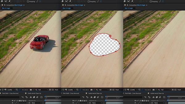 xóa vật thể trong photoshop bằng công cụ Content-Aware Fill