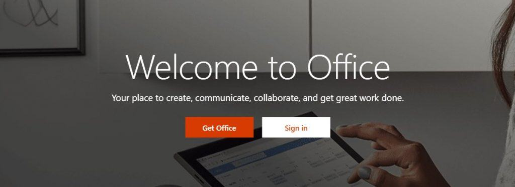 Trang chủ Microsoft Office