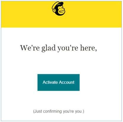 huong dan su dung mailchimp activate account
