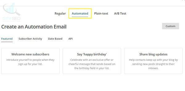 hướng dẫn sử dụng mailchimp để gửi mail hàng loạt