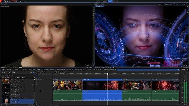Ứng dụng chỉnh sửa video HitFilm Express