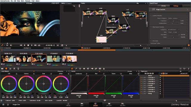 Ứng dụng chỉnh sửa video DaVinci Resolve