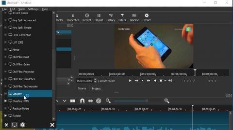 Ứng dụng chỉnh sửa video Shotcut