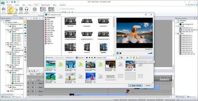 ứng dụng chỉnh sửa video VSDC Viceo Editor