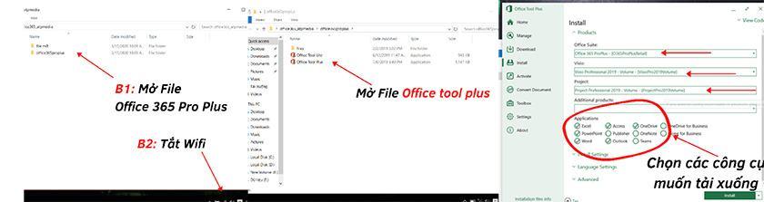 Hướng dẫn Free Download Office 365