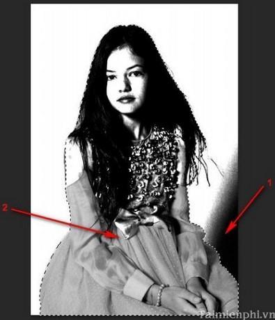 tach nen trong photoshop 10