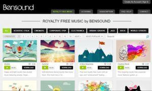 Kho nhạc nền quảng cáo Bensound