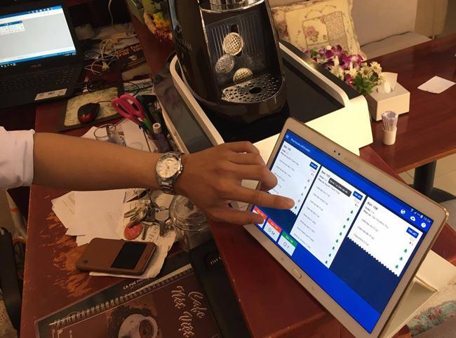 Sử dụng phần mềm trong quản lý giúp quán tiết kiệm đượcnhiều thời gianvà tiền bạc