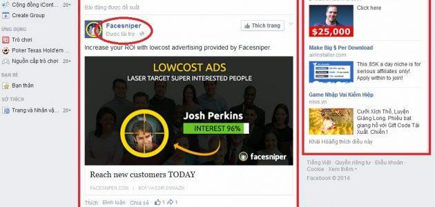 Cách chạy quảng cáo trên Facebook có tài trợ
