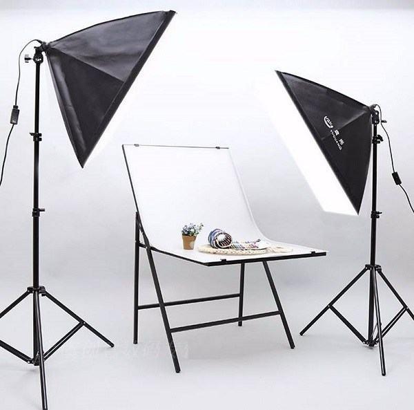 Sử dụngđèn chiếu sángnếuchụp trong studio