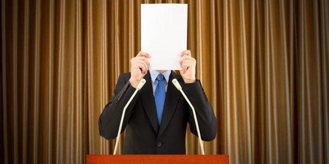 Đừng cầm giấy lên đọc