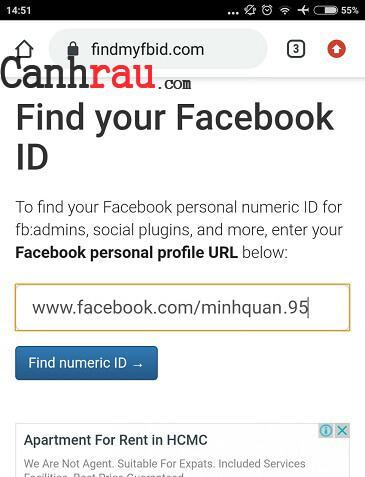 Cách tìm ID Facebook trên máy tính và điện thoại hình 10