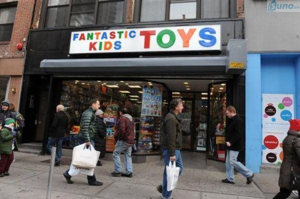 Mặt bằng kinh doanh đồ chơi trẻ em