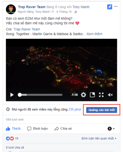 6 dạng chạy quảng cáo Facebook