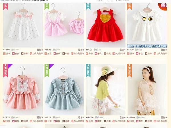 Mẹo tìm nguồn hàng quần áo trẻ em quảng châu rẻ nhất thị trường