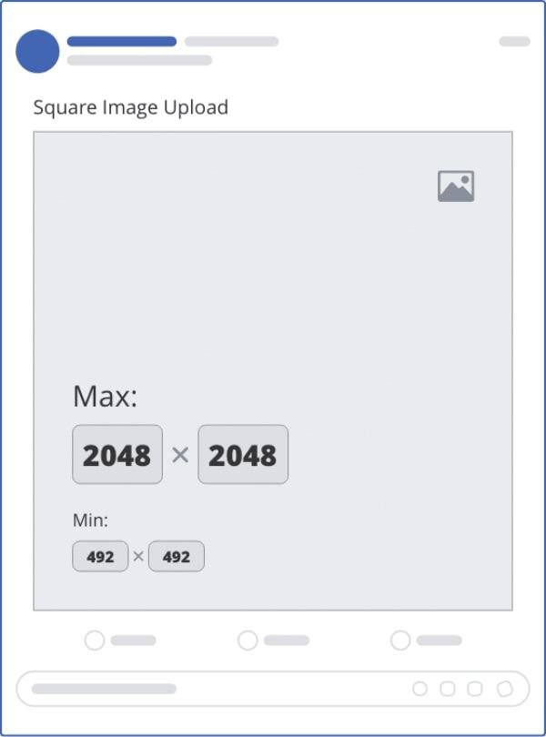 ảnh đăng facebook 1 hình vuông - kích thước ảnh bìa fanpage