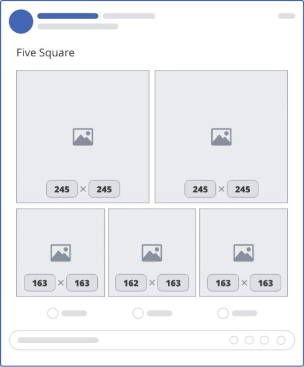 ảnh đăng facebook 5 hình vuông - facebook cover