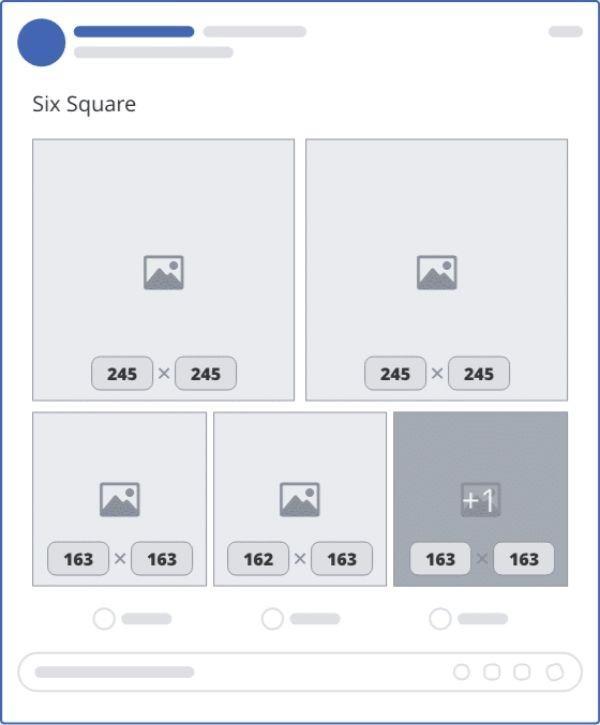 ảnh đăng facebook 6 hình vuông - size ảnh bìa facebook