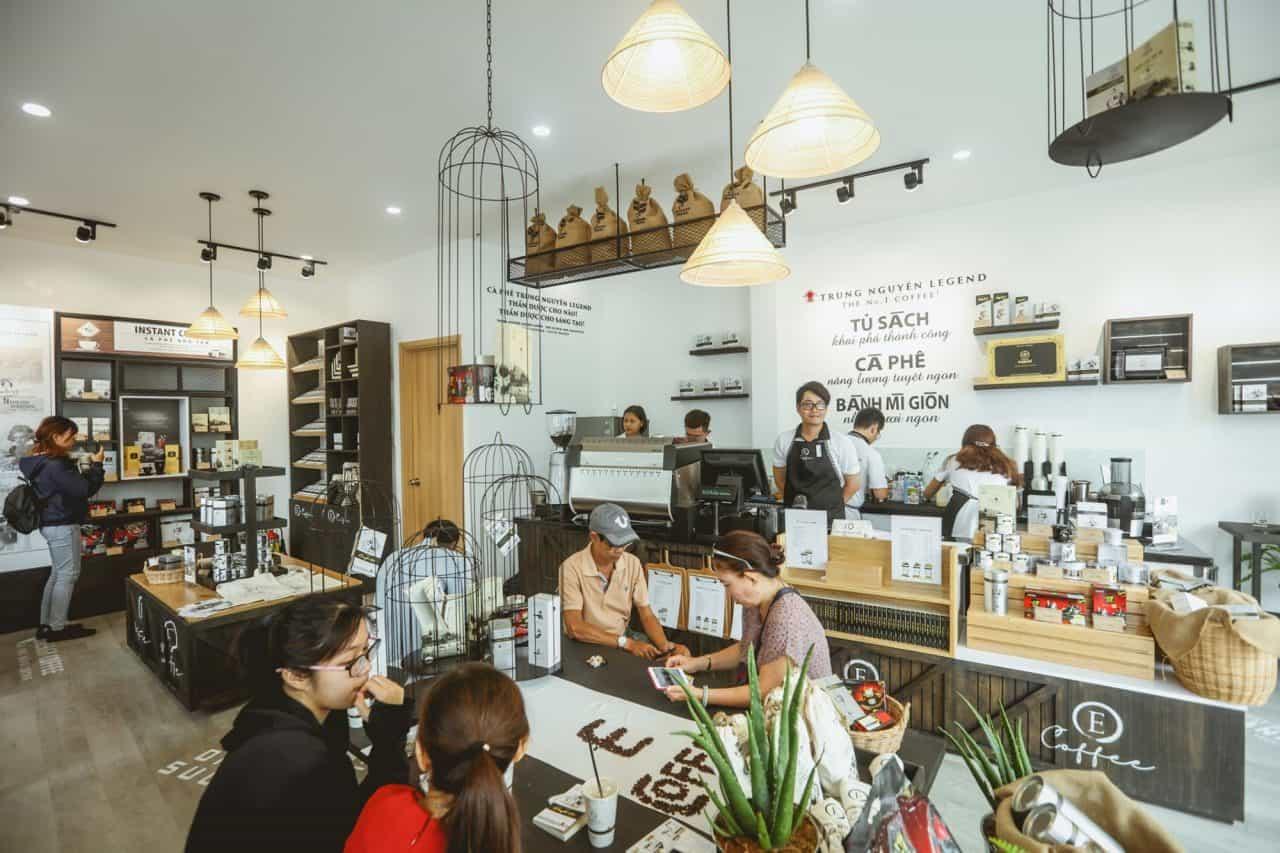 kinh nghiệm mở quán cafe