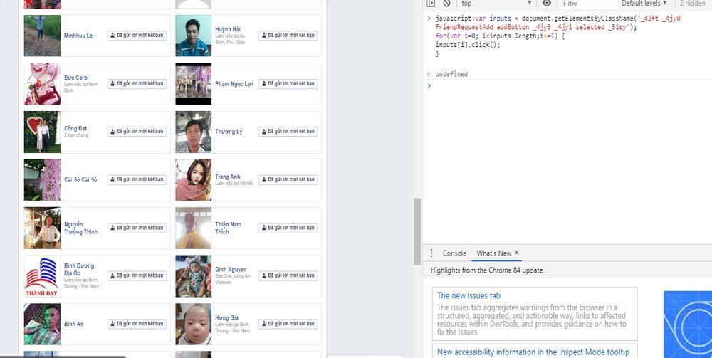 Phần mềm kết bạn hàng loạt trên facebook