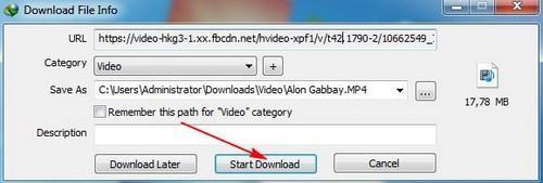 download facebook video don gian nhat
