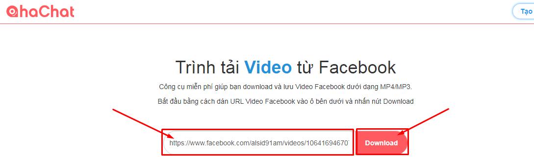 tai video facebook