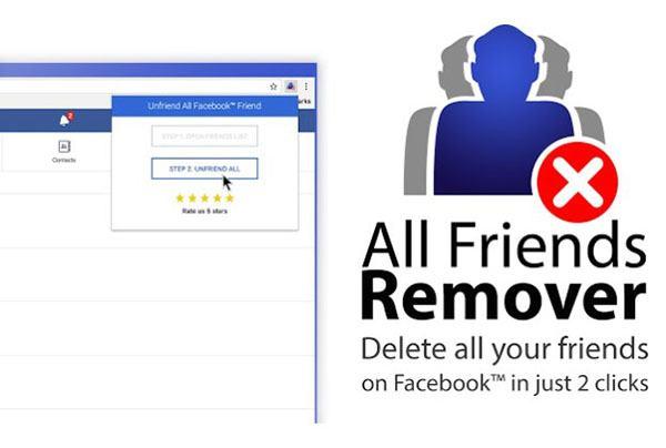 Tải và cài đặt tiện ích Friend Remover Pro cho trình duyệt web