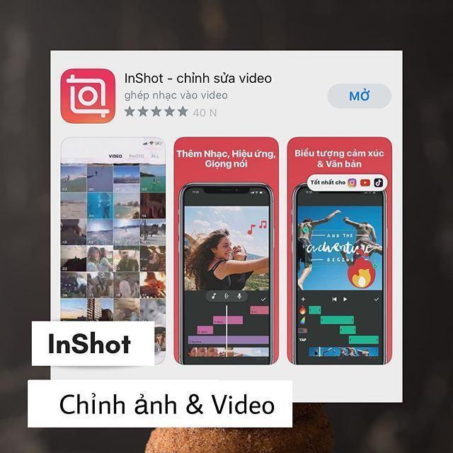 Ứng dụng chỉnh sửa video và ảnh