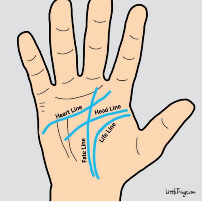 Xem tướng bàn tay (Ảnh: Internet)