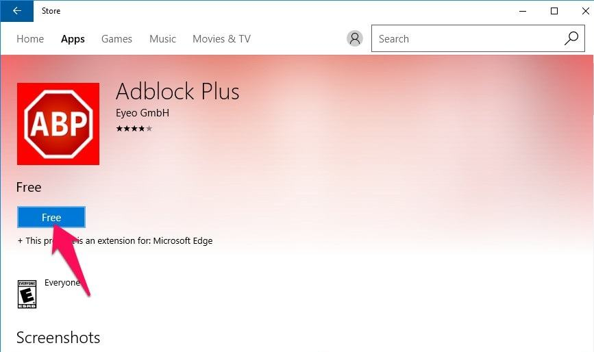 Chặn quảng cáo YouTube trên Microsoft Edge