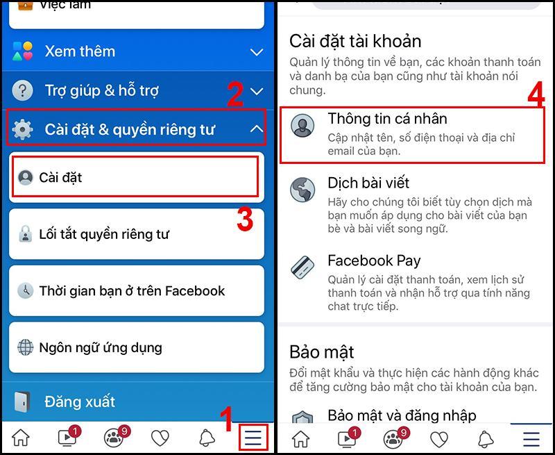 khóa nick Facebook
