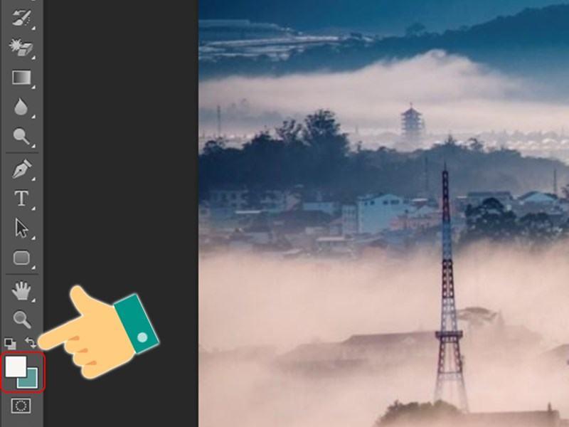 Công cụ Foreground và Background trong Photoshop
