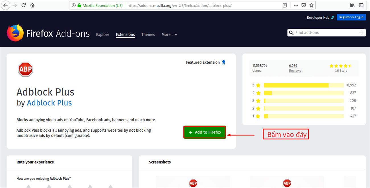 Chặn quảng cáo YouTube trên Firefox