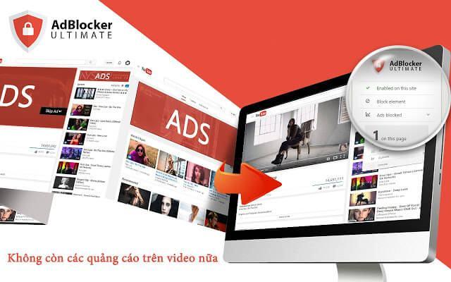 AdBlocker Ultimate gỡ bỏ tất cả các quảng cáo, giúp bạn tập trung vào những nội dung muốn xem