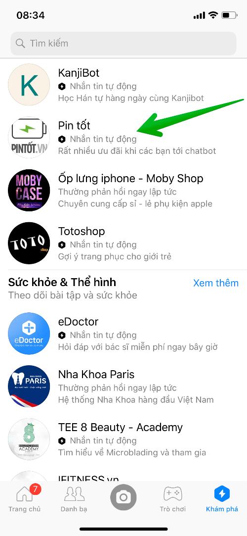 Khái niệm Chatbot