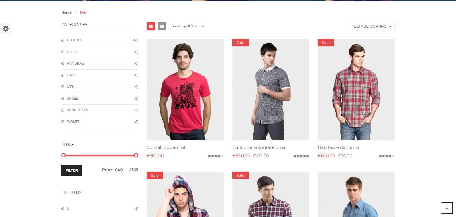 mẫu content bán quần áo