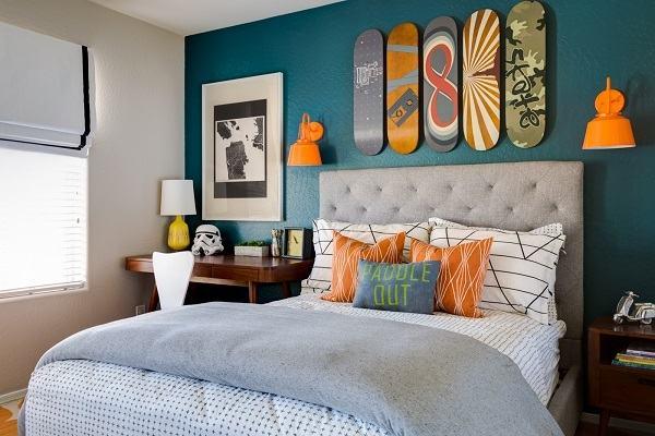 màu sắc phong thủy phòng ngủ