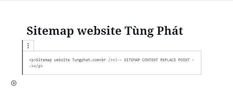 Tạo sitemap HTML cho website cực kỳ đơn giản