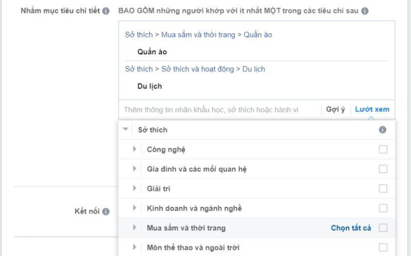 target doi tuong facebook theo nhan khau hoc