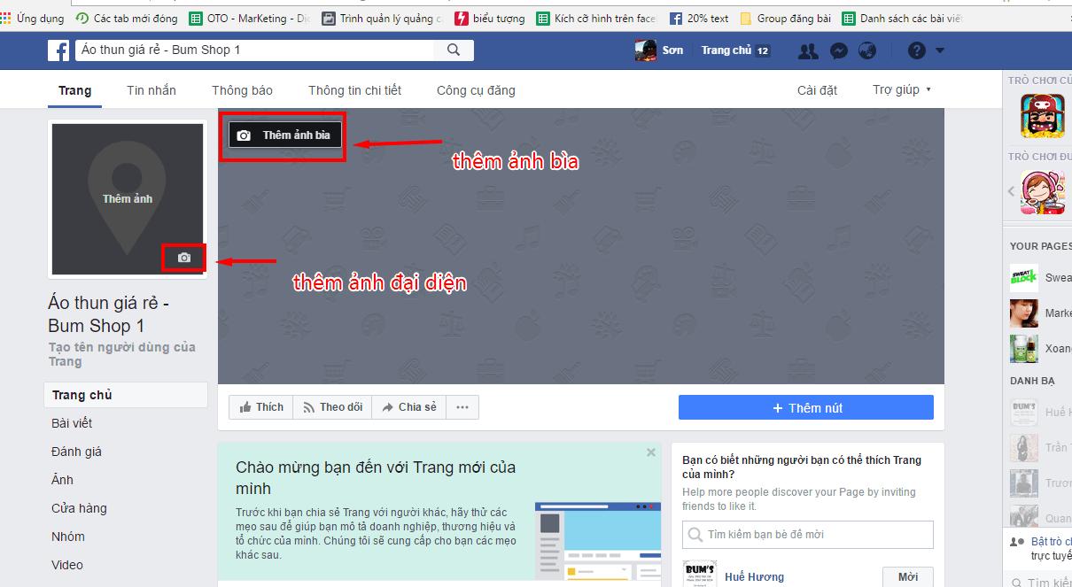 Tạo fanpage thúc đẩy bán hàng nhanh chóng