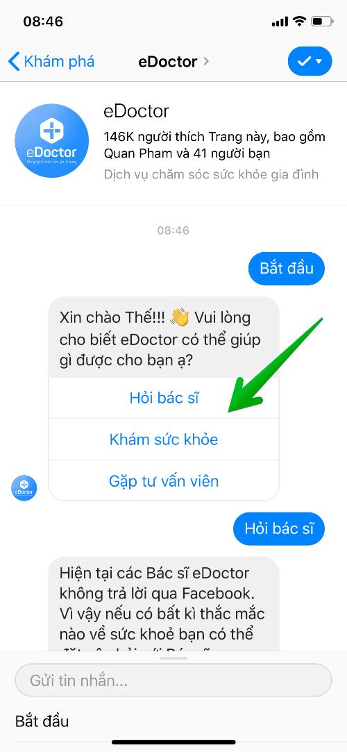 Chatbot giúp trả lời tin nhắn khách hàng nhanh chóng