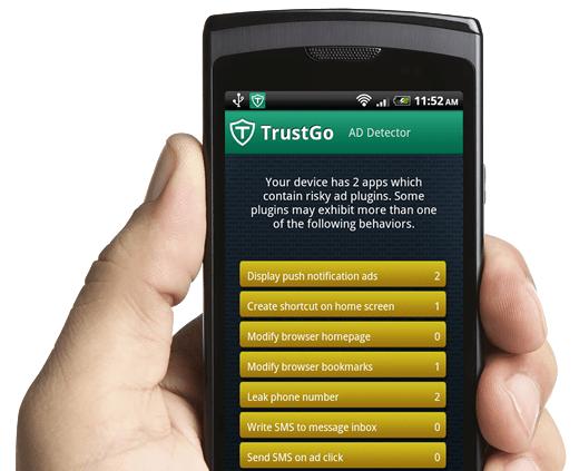TrustGo Ad Detector đượcđánh giácao trong việc lọc quảng cáo