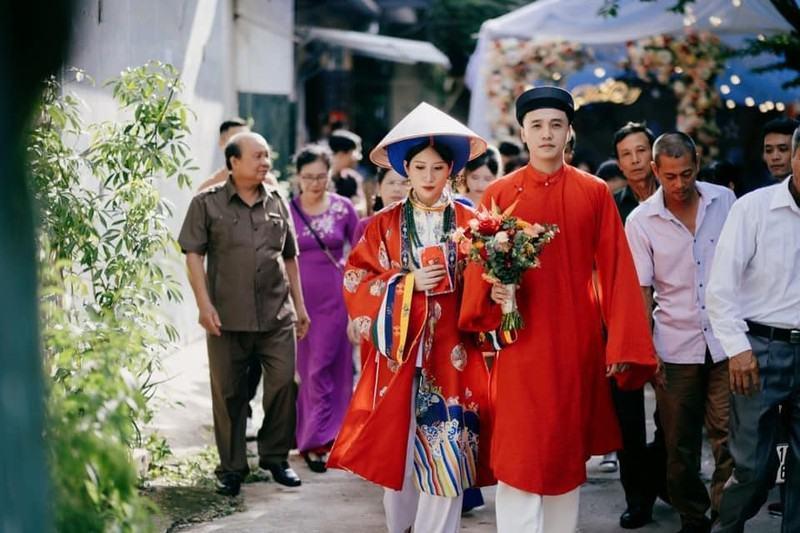 Độc đáo cổ phục Việt trong đám cưới tại Cao Bằng