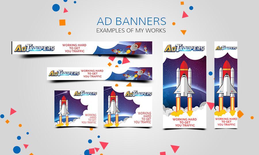 Design Creative Web Banner Ads for $5 - SEOClerks