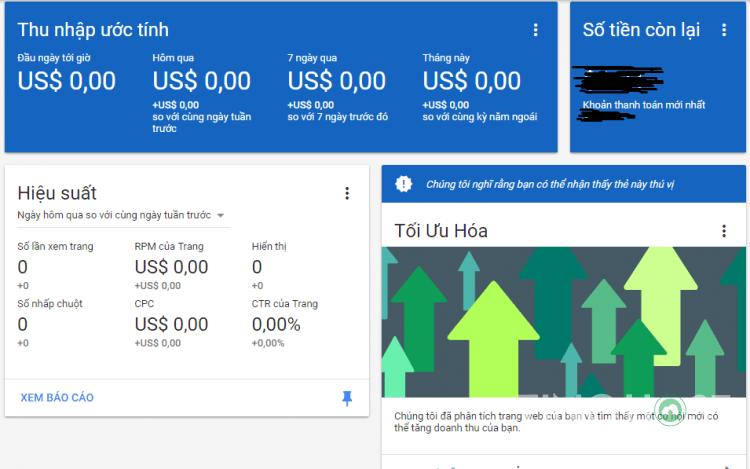 Google Adsense trả tiền như thế nào?