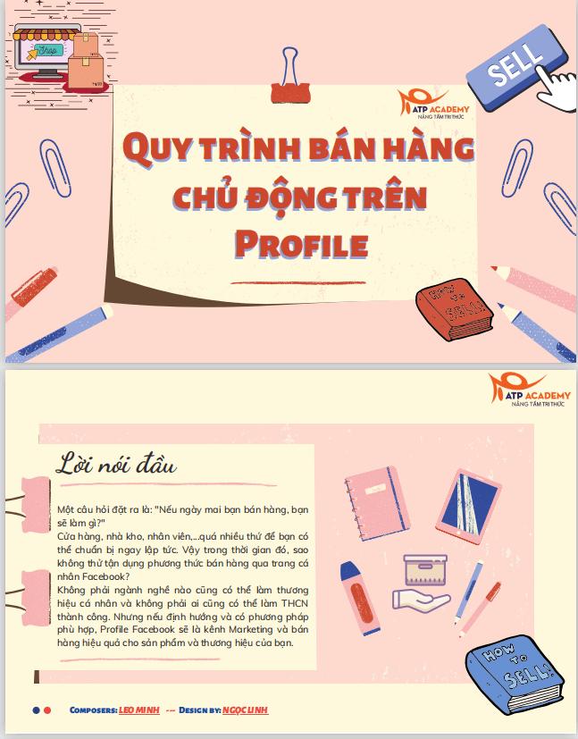 Quy trinh ban hang chu dong