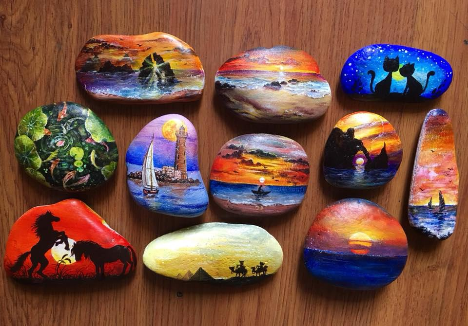 Tranh vẽ đá