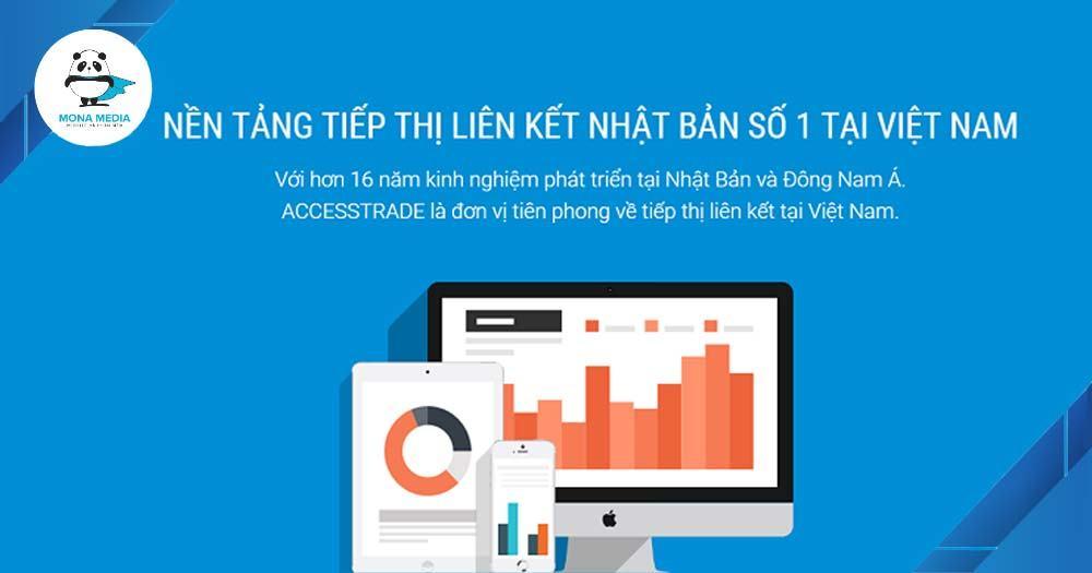ACCESSTRADE - nền tảng tiếp thị liên kết hàng đầu Việt Nam và Châu Á
